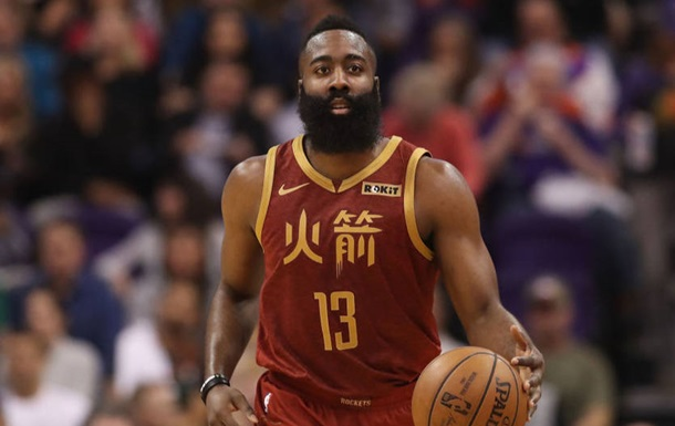 Харден і Адетокунбо стали найкращими гравцями місяця в НБА