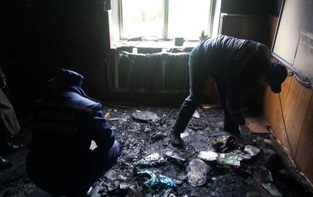 В Очакові перед початком уроків підпалили школу