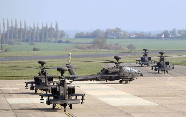 Британія відправила вертольоти Apache в Естонію