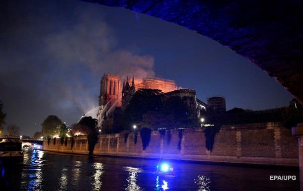 Врятовано несучі конструкції собору Паризької Богоматері