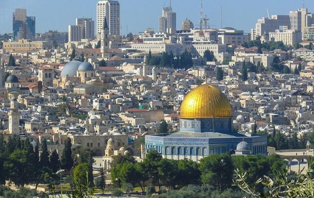 Пожежа спалахнула на Храмовій горі в Єрусалимі
