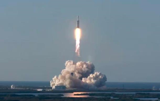 Space Х потеряла первую ступень Falcon Heavy после посадки