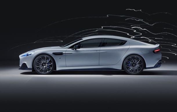 В Сети показали первый электрокар от Aston Martin