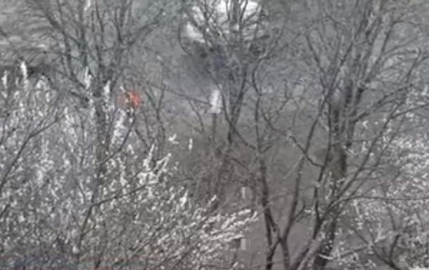 Снег в Ровно 16 апреля 2019
