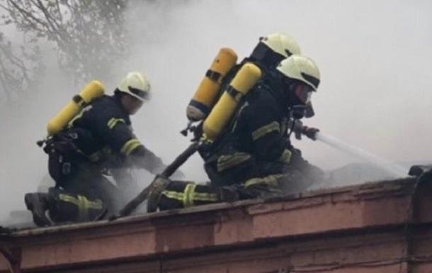 В Одесі сталася пожежа в психіатричній лікарні