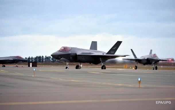 США вперше розмістили на Близькому Сході новітні винищувачі F-35A