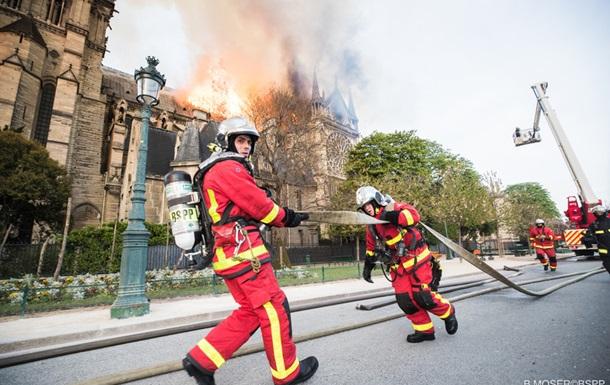 Названа ймовірна причина пожежі в Нотр-Дам