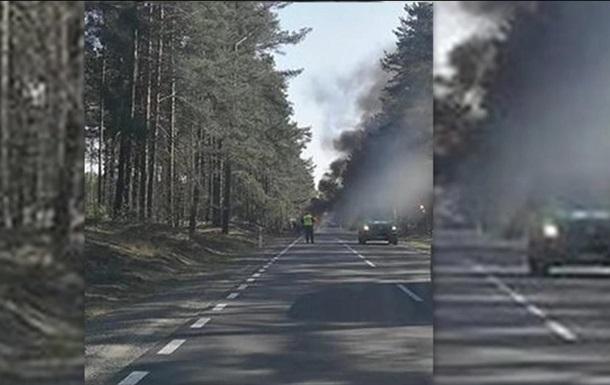 У Польщі зайнялася вантажівка армії США, є постраждалі