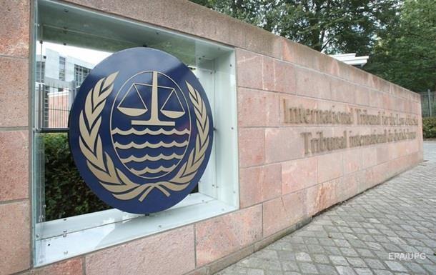 Захоплення моряків: трибунал отримав запит України