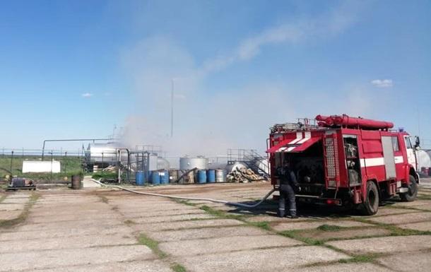 У Миколаївській області горів нафтопереробний завод