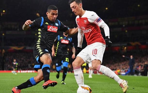 Арсенал повторно обіграв Наполі і пройшов до півфіналу ЛЄ
