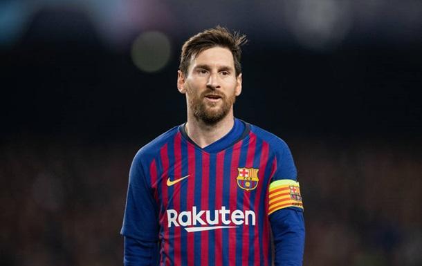 Месси стал игроком недели в Лиге чемпионов