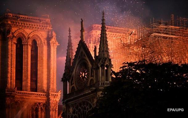 Пожежа в Нотр-Дамі: названа ще одна причина загоряння