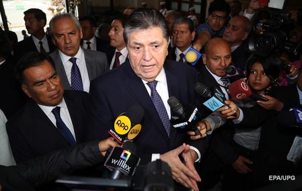 Екс-президент Перу, який наклав на себе руки, залишив передсмертну записку