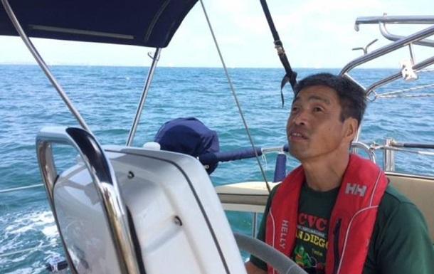 Незрячий японець вперше у світі перетнув Тихий океан на яхті