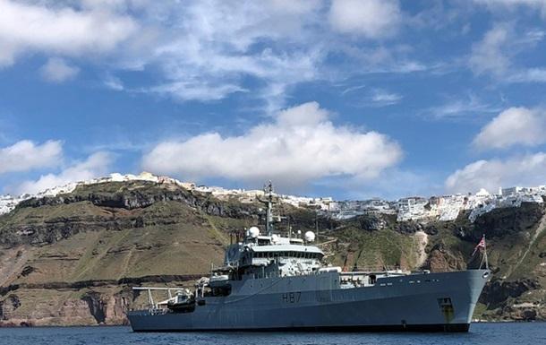 В Черное море вошел британский корабль-разведчик