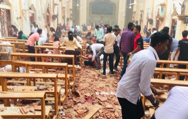 На Шрі-Ланці сталися вибухи в храмах під час великодньої служби