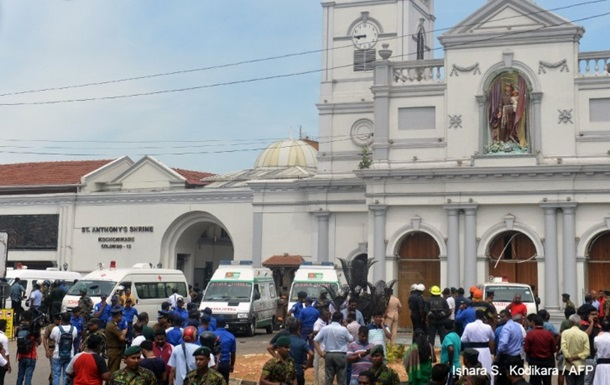 Вибухи в церквах і готелях Шрі-Ланки: 52 загиблих