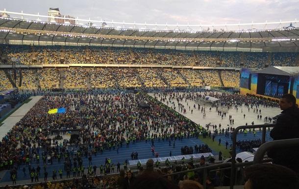 Скрытые видео с дебатов Зеленского и Порошенко на Олимпийском