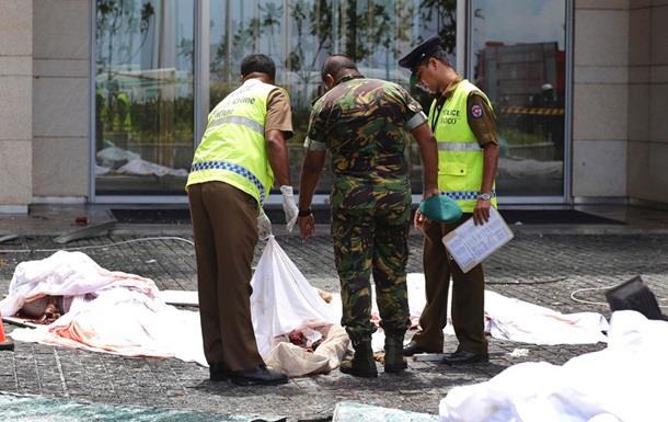 Шри Ланка теракт