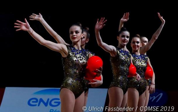 Українські гімнастки виграли повний комплект нагород на етапі Кубка світу