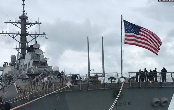 Есмінець ВМС США зайшов у порт Батумі