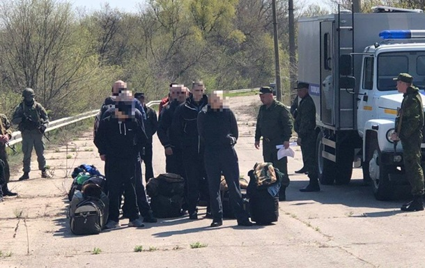 Україна забрала з  ЛНР  60 ув язнених