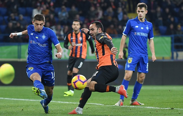 Смотреть онлайн-трансляцию матча Динамо - Шахтер