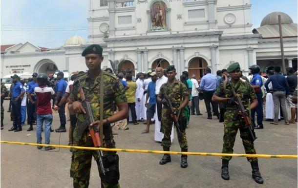 Вибухи на Шрі-Ланці: затримано п ятьох підозрюваних