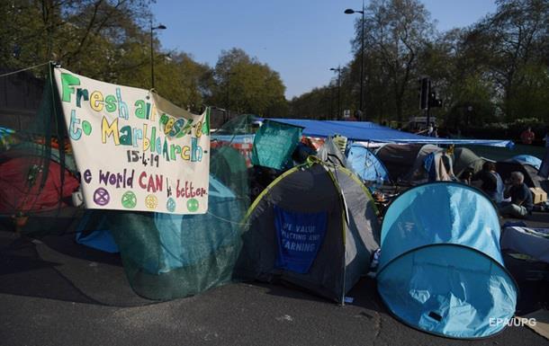 У Лондоні за тиждень затримали понад тисячу активістів