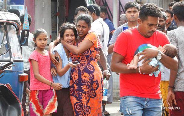 Влада Шрі-Ланки знала про загрозу терактів