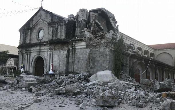 Землетрус на Філіппінах: щонайменше 15 загиблих