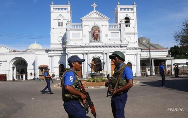 Вибухи на Шрі-Ланці: кількість затриманих досягла 40 осіб