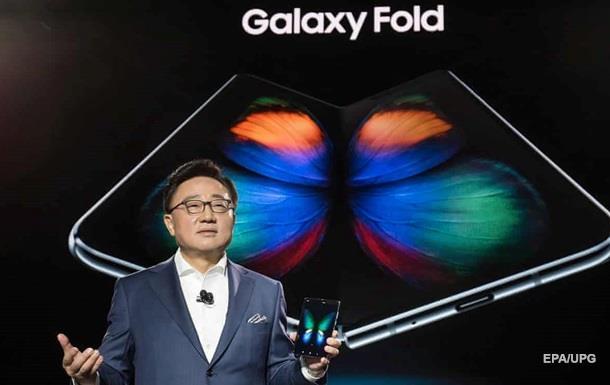 Samsung відклала вихід на ринок  гнучкого  Galaxy Fold