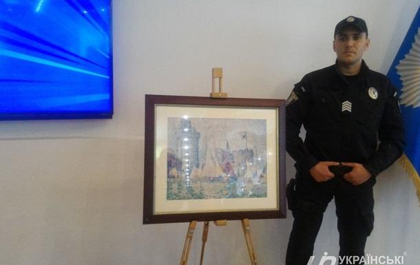 Українська поліція повернула Франції викрадену картину вартістю $1,5 млн