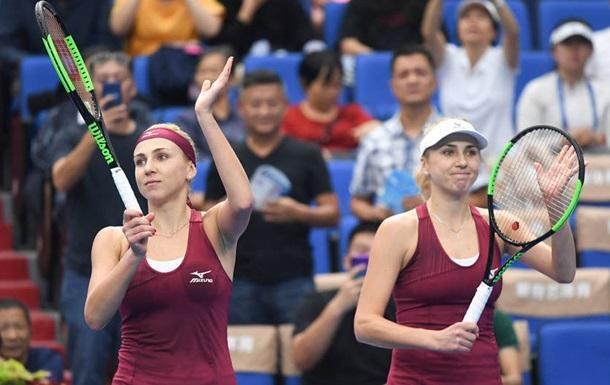 Сестри Кіченок зазнали поразки на старті парного турніру в Штутгарті