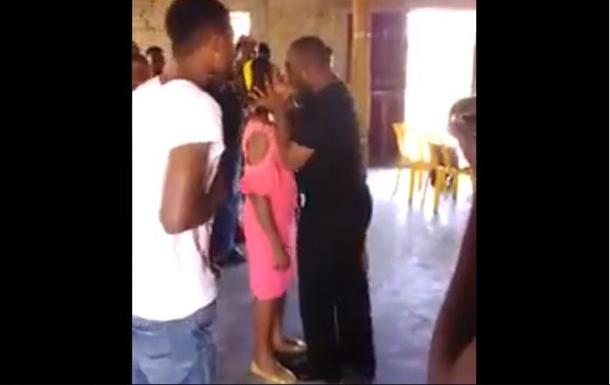 Священнослужитель целовал прихожанку в губы для исцеления