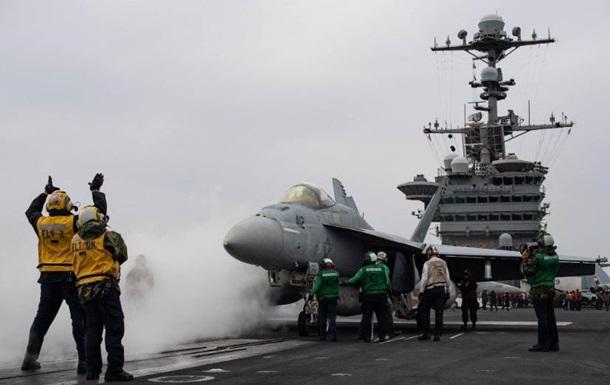 У Середземне море вперше зайшли два авіаносці США