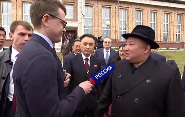 Ким Чен Ын впервые дал интервью российскому журналисту