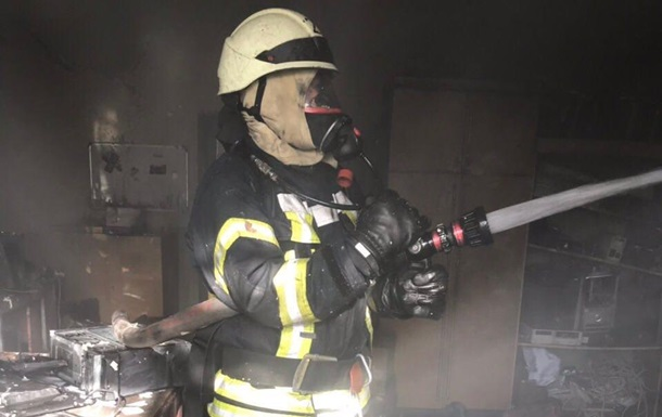 У Києві сталася пожежа в будівлі Міносвіти
