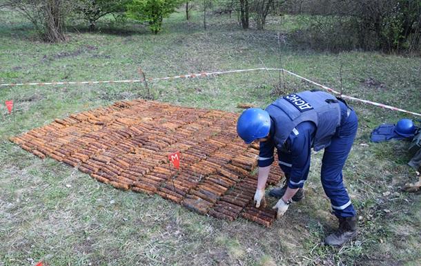 Майже дві тисячі боєприпасів Другої світової знайшли на Миколаївщині