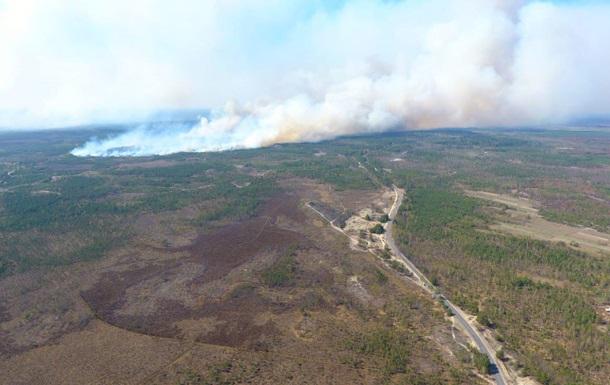 До України просувається масштабна пожежа