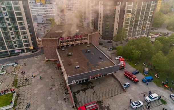 В Днепре произошел пожар в кинотеатре