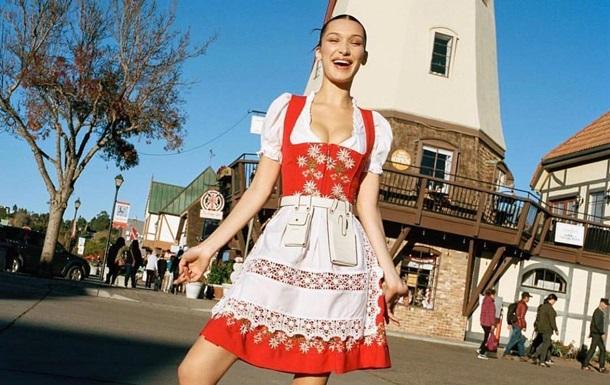 Белла Хадид снялась для американского Vogue