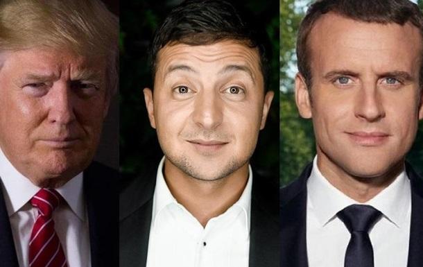 Зеленский: украинский Макрон... или все же Трамп?..