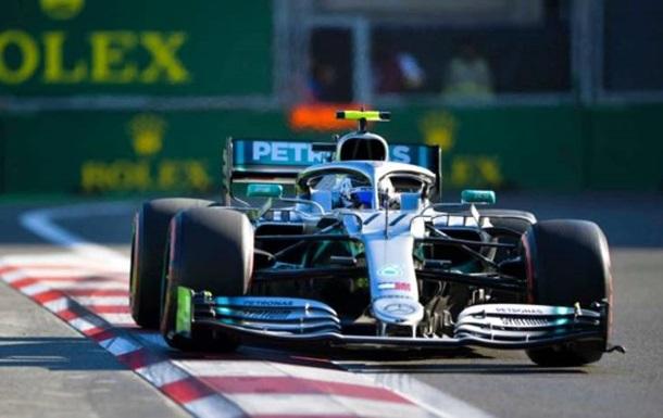 Боттас виграв кваліфікацію Гран-прі Азербайджану
