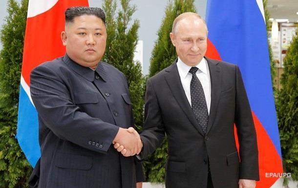 У Путіна розповіли про переговори з Кім Чен Ином
