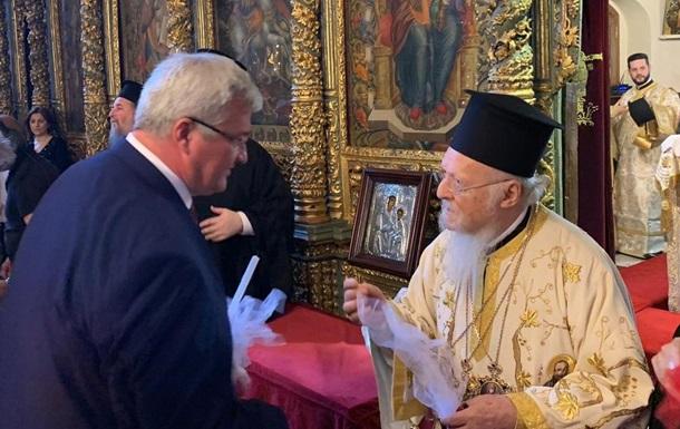 Послання патріарха на Фанарі вперше звучало українською мовою