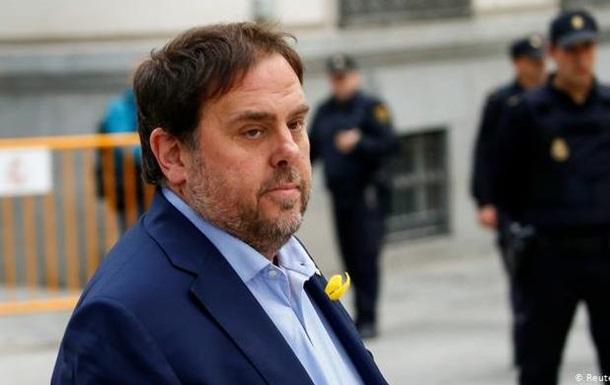 Арестованные лидеры сепаратистов Каталонии прошли в испанский парламент