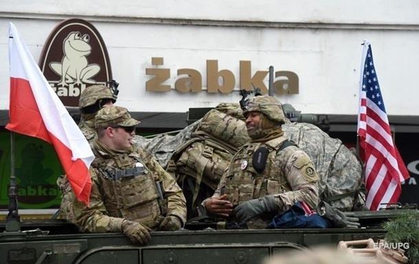 США збільшать чисельність своїх військ у Польщі